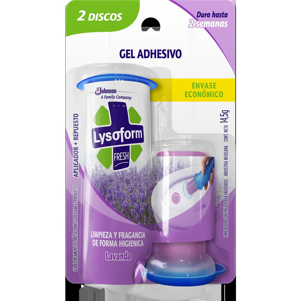 Lysoform fresh discos activos lavanda aplicador repuesto